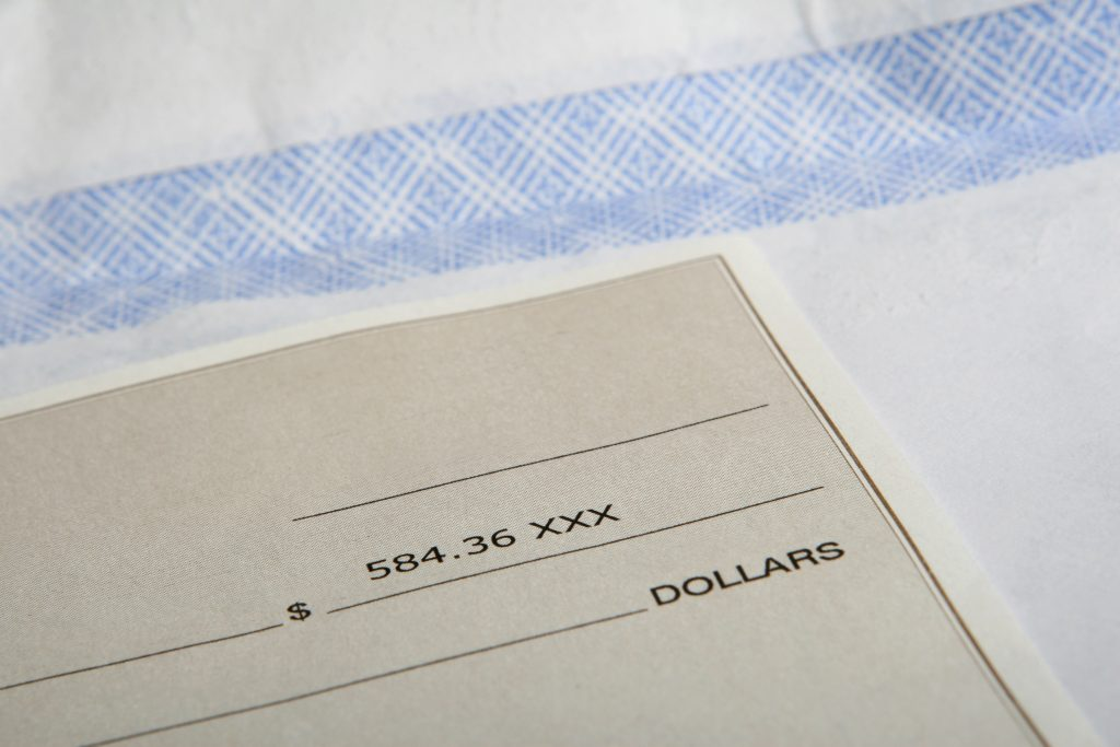 Take a deposit payment to ensure you don't end up out of pocket and under-scheduled